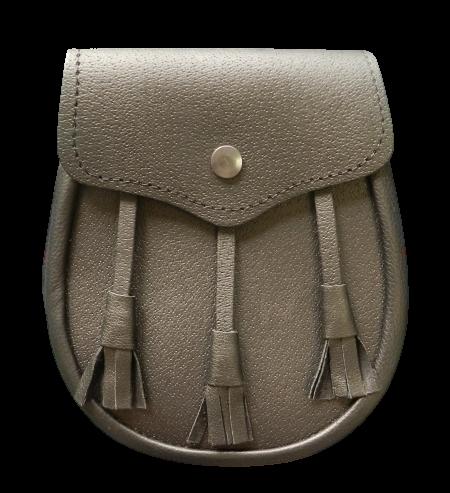 8GS Leather Budget Sporran (Black)