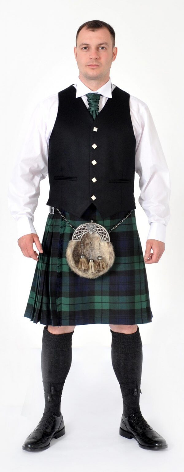 Scottish 8 Yard Rangers Dress Modern kilt outfits