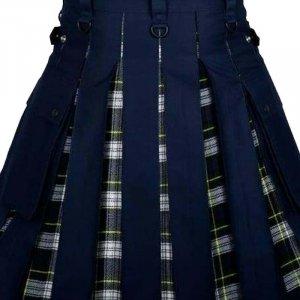 New Scottish Fashion Utility Dress Gordon Hybrid Kilt