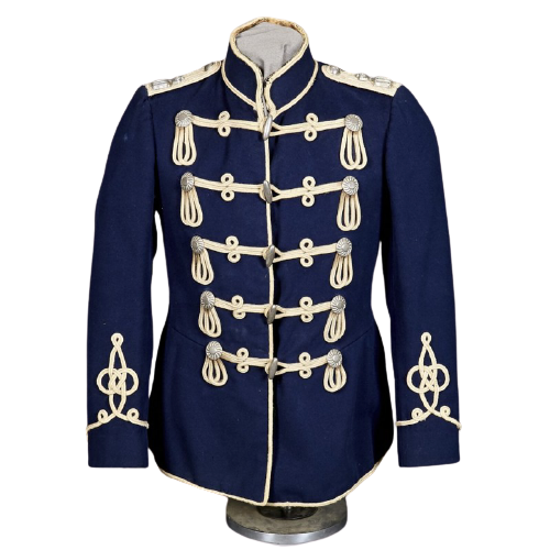 Dark Blue German Hussar Atilla Pre War Jacket
