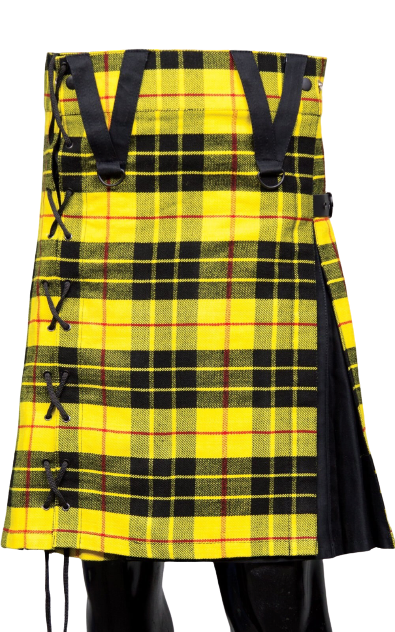 Modern Macleod of Lewis Box Pleated Hybrid Kilt