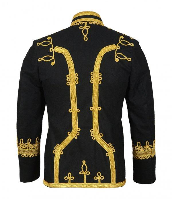 New Napoleonic Hussar Uniform Miltary Style Tunic Pelisse Jimmi Hendrix
