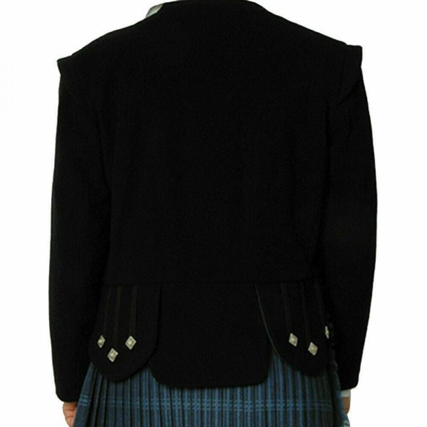 Scottish Sheriffmuir Doublet Kilt Jacket with Vest