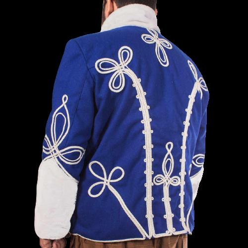 Stylish blue Napoleonic uniforms – Napoleonic Prussian Hussars jacket Pelisse