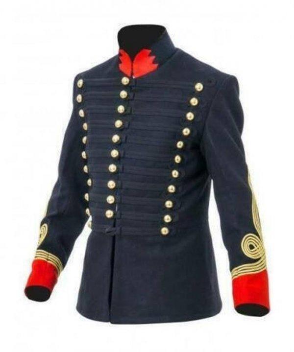 British Hussars Tunic Modern Day British Napoleonic War Uniforms Civil War Wool