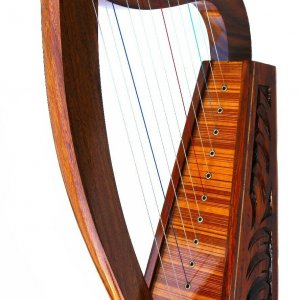 24″ 12 STRINGS HARP+ BAG Irish Celtic Style
