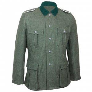 German Army M36 Field Grey Wool Tunic WW2 Repro Uniform Jacket Military